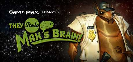 Sam & Max 303: They Stole Max's Brain!