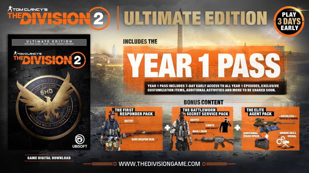 Tom Clancy's The Division 2: Ultimate Edition