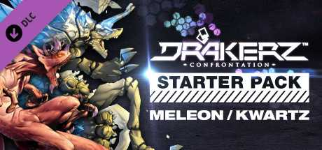 DRAKERZ-Confrontation : virtual STARTER pack MELEON + KWARTZ