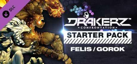 DRAKERZ-Confrontation : virtual STARTER pack FELIS + GOROK