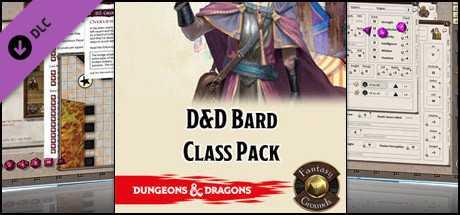 Fantasy Grounds - D&D Bard Class Pack