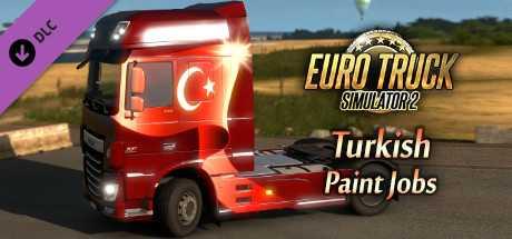 Euro Truck Simulator 2 - Turkish Paint Jobs Pack