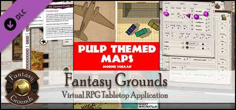 Fantasy Grounds - Pulp Themed Maps