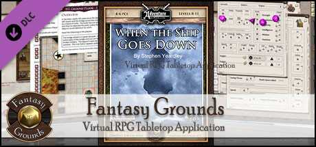 Fantasy Grounds - When the Ship Goes Down (PFRPG)