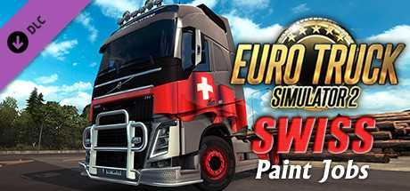 Euro Truck Simulator 2 - Swiss Paint Jobs Pack