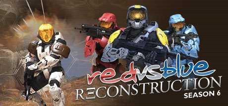Red vs. Blue: Reconstruction (Volume 6)