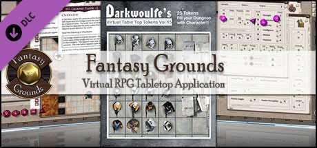 Fantasy Grounds - Darkwoulfe's Token Pack Volume 15