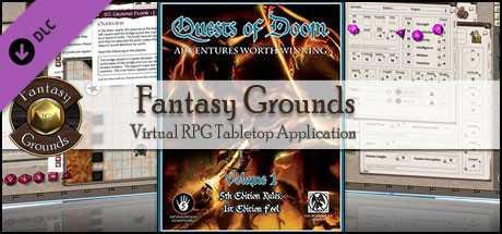 Fantasy Grounds - 5E: Quests of Doom
