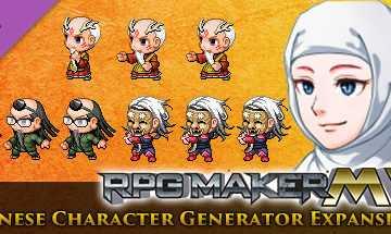 RPG Maker MV - Japanese Character Generator Expansion 3