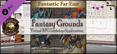 Fantasy Grounds - Fantastic Far East (Token Pack)