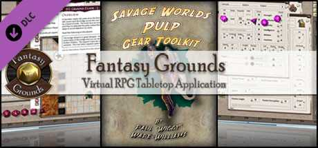 Fantasy Grounds - Pulp Gear Toolkit (Savage Worlds)