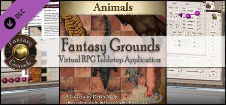 Fantasy Grounds - Animals (Token Pack)