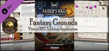 Fantasy Grounds - Into the Wintery Gale: Raider's Haul (PFRPG)