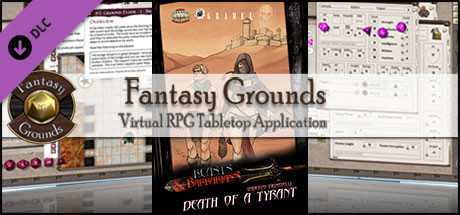 Fantasy Grounds - Beasts & Barbarians: Death of a Tyrant (Savage Worlds)