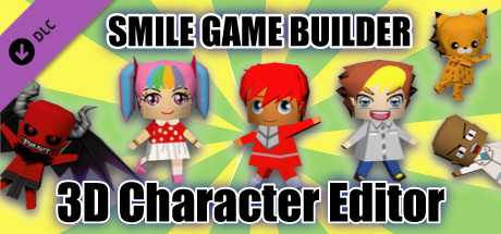 SMILE GAME BUILDER 3D Character Editor
