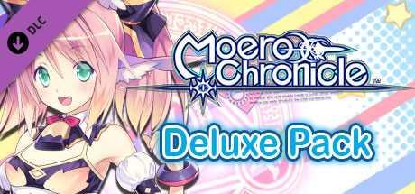 Moero Chronicle - Deluxe Pack   限界凸記 モエロクロニクル  デラックスセット  極限凸記 萌萌編年史 數位附錄套組