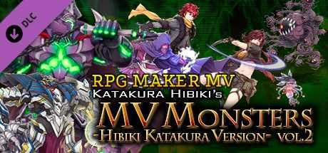 RPG Maker MV - MV Monsters HIBIKI KATAKURA ver Vol.2