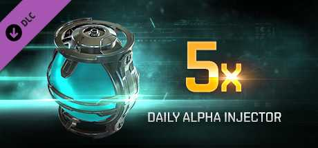 EVE Online: 5 Daily Alpha Injectors
