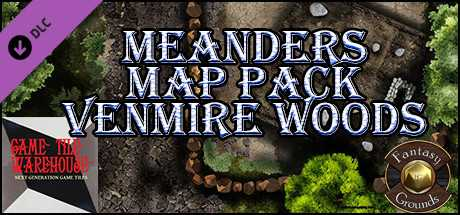 Fantasy Grounds - Meanders Map Pack: Venmire Woods (Map Pack)