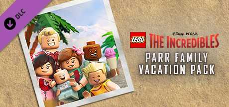 LEGO The Incredibles - Parr Family Vacation Character Pack