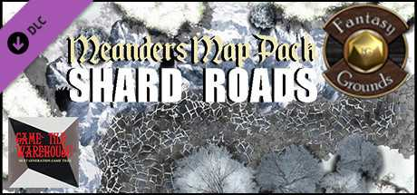 Fantasy Grounds - Meanders Map Pack: Shard Roads (Map Pack)