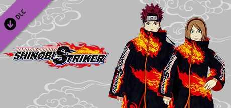 NTBSS: Shinobi Strikers Coat: Black (Gender-Neutral)