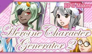 RPG Maker MV - Heroine Character Generator 2 Archives
