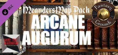 Fantasy Grounds - Meanders Map Pack: Arcane Augurum (Map Pack)