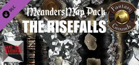 Fantasy Grounds - Meanders Map Pack: The Risefalls (Map Pack)
