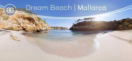 Dream Beach - Mallorca   VR Relaxation Sphaere   360° Video   6K/2D