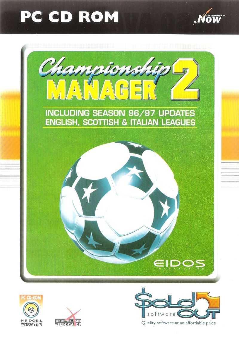 Championship Manager 2: Including Season 96/97 Updates - English, Scottish & Italian Leagues