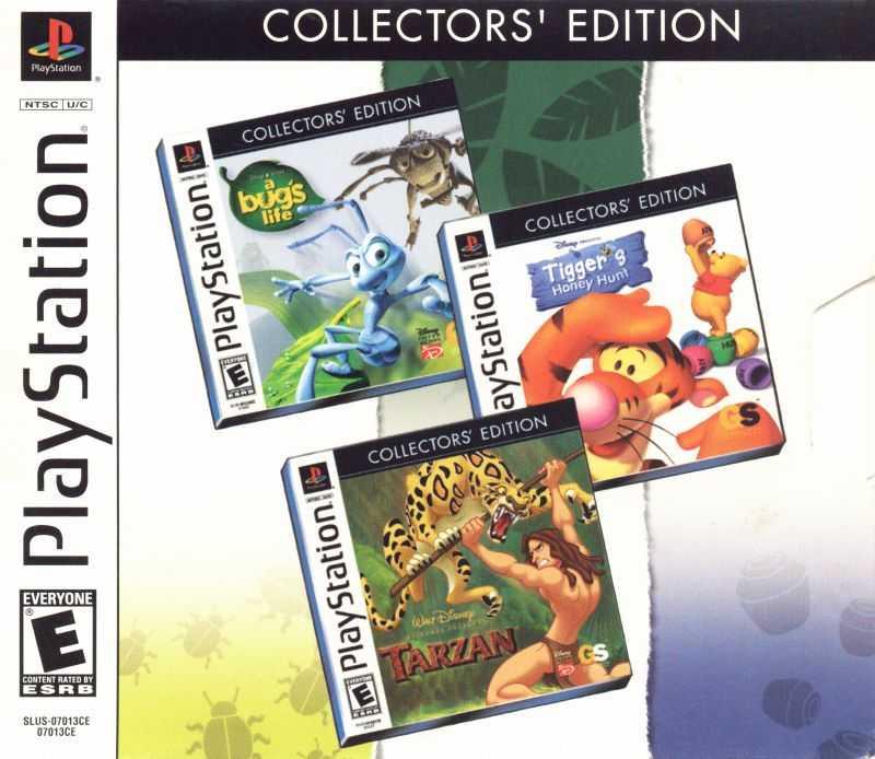 Collectors' Edition: A Bug's Life / Tigger's Honey Hunt / Tarzan