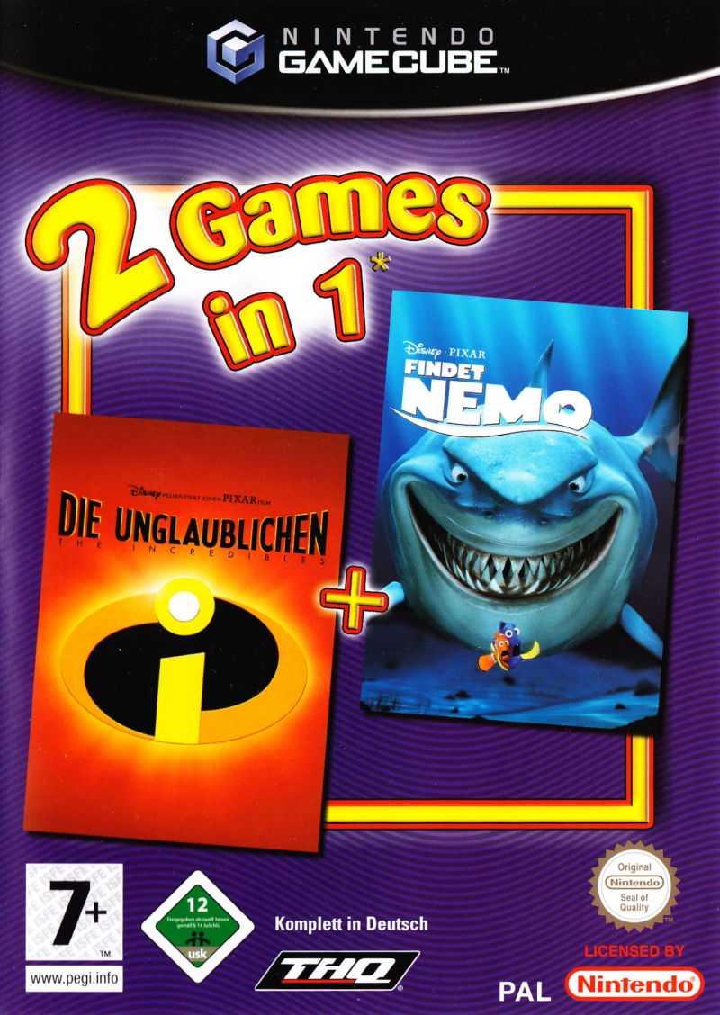 Disney/Pixar Finding Nemo / Disney presents a Pixar film, The Incredibles: Double Pack