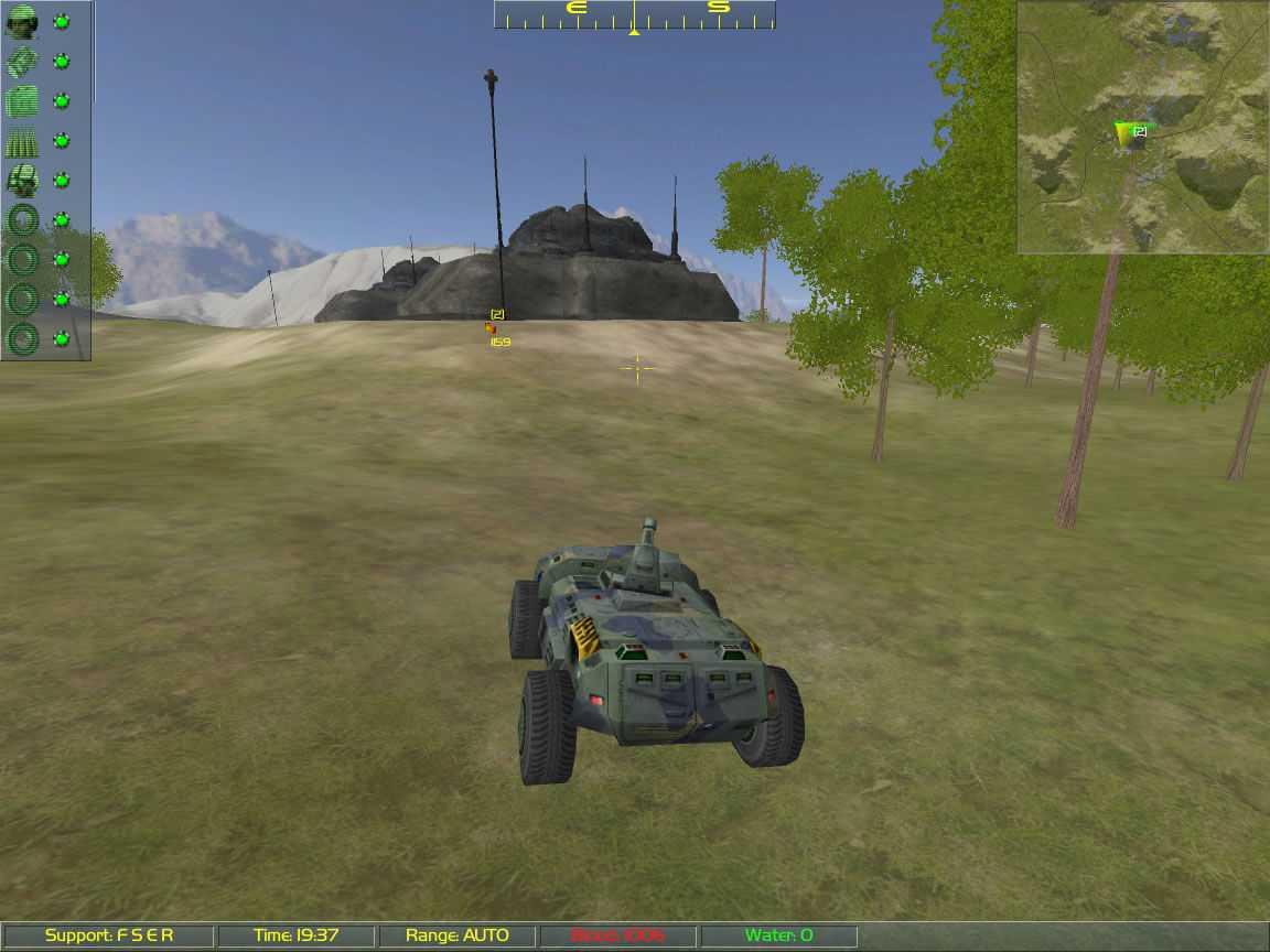 DropTeam: Mechanized Combat in the Far Future