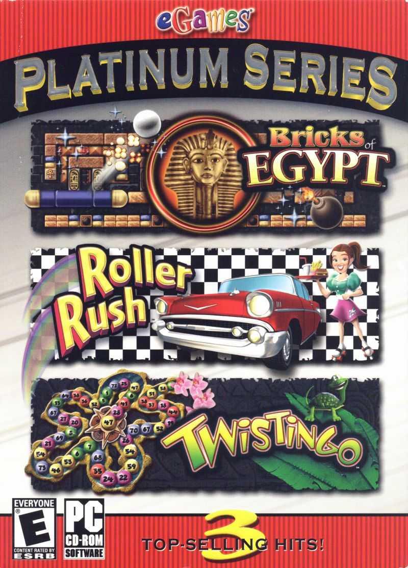 eGames Platinum Series: Bricks of Egypt / Roller Rush / Twistingo