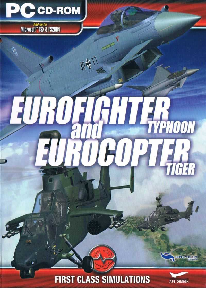 Eurofighter Typhoon and Eurocopter Tiger