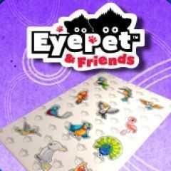 EyePet & Friends: Tropical Birds Stickers Pack
