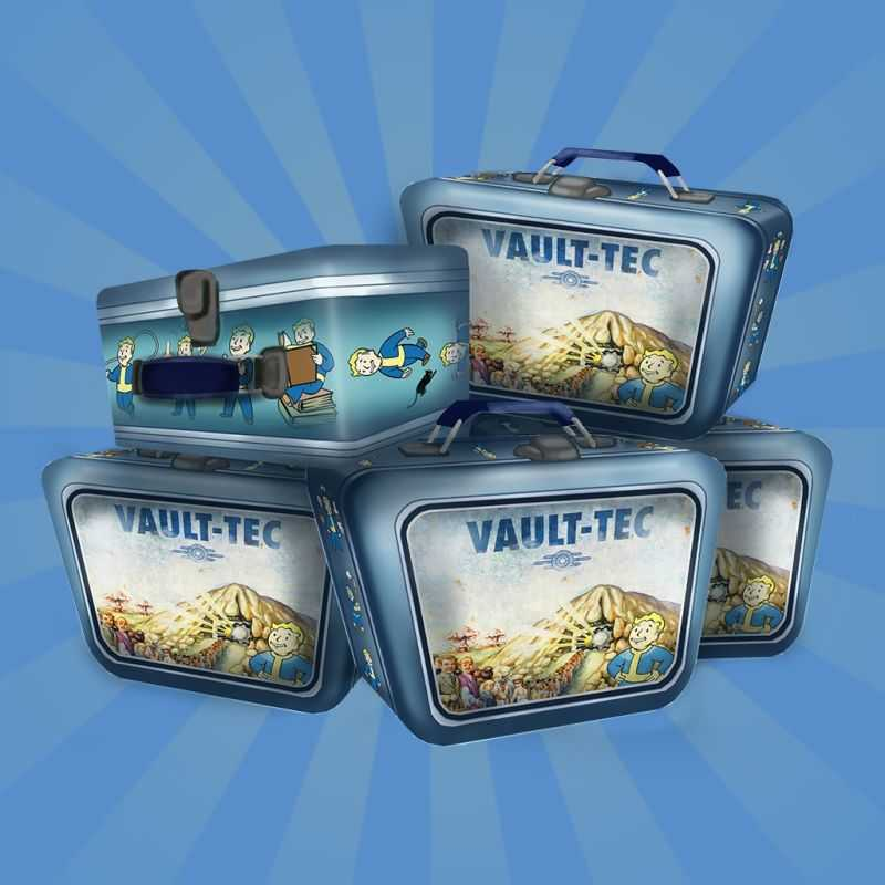 Fallout Shelter: Bundle of 5 Lunchboxes