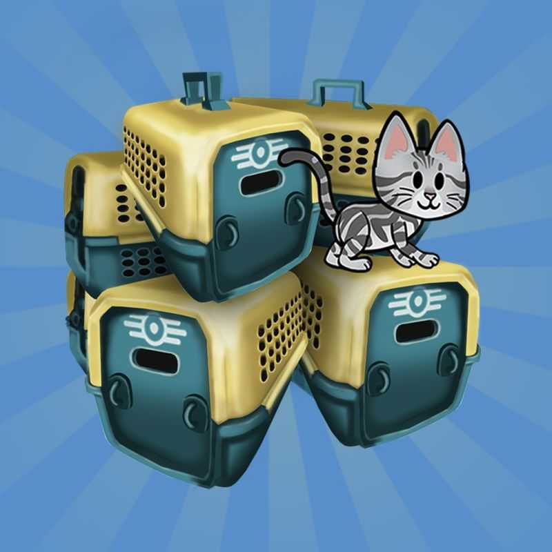 Fallout Shelter: Bundle of 5 Pet Carriers