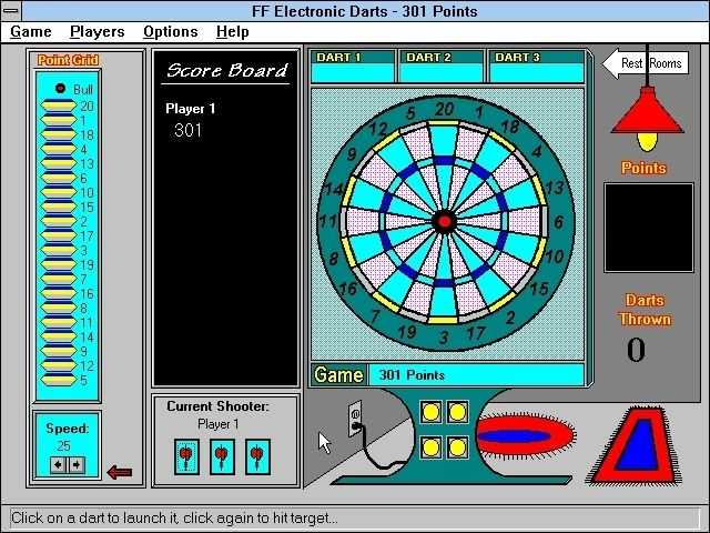 Financial Freedom Electronic Darts