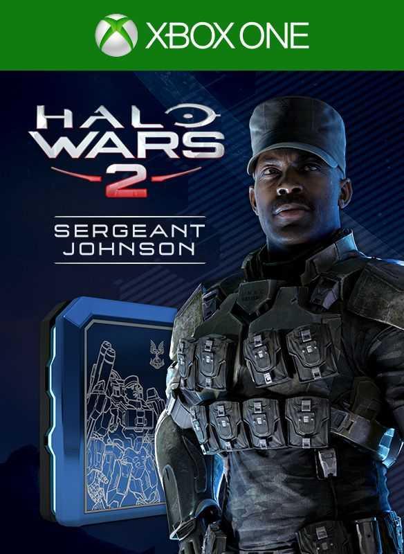 Halo Wars 2: Sergeant Johnson Leader Pack