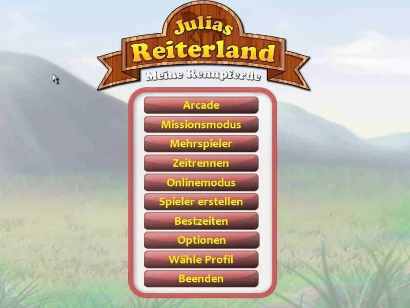 Julias Reiterland: Meine Rennpferde