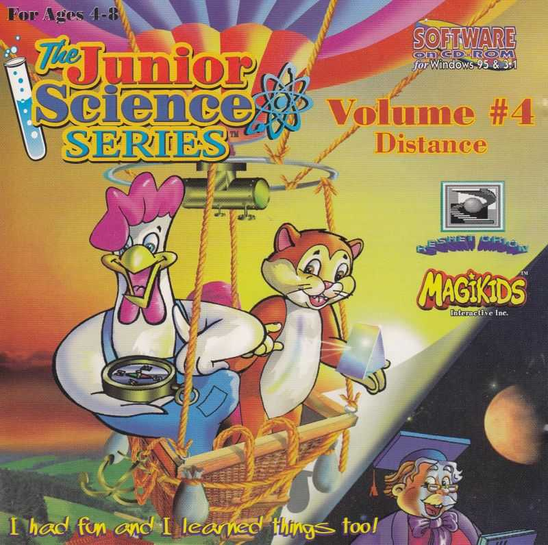 The Junior Science Series Volume 4: Distance