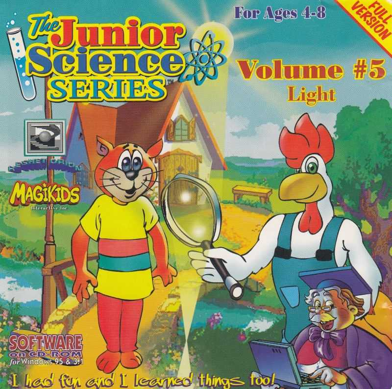 The Junior Science Series Volume 5: Light