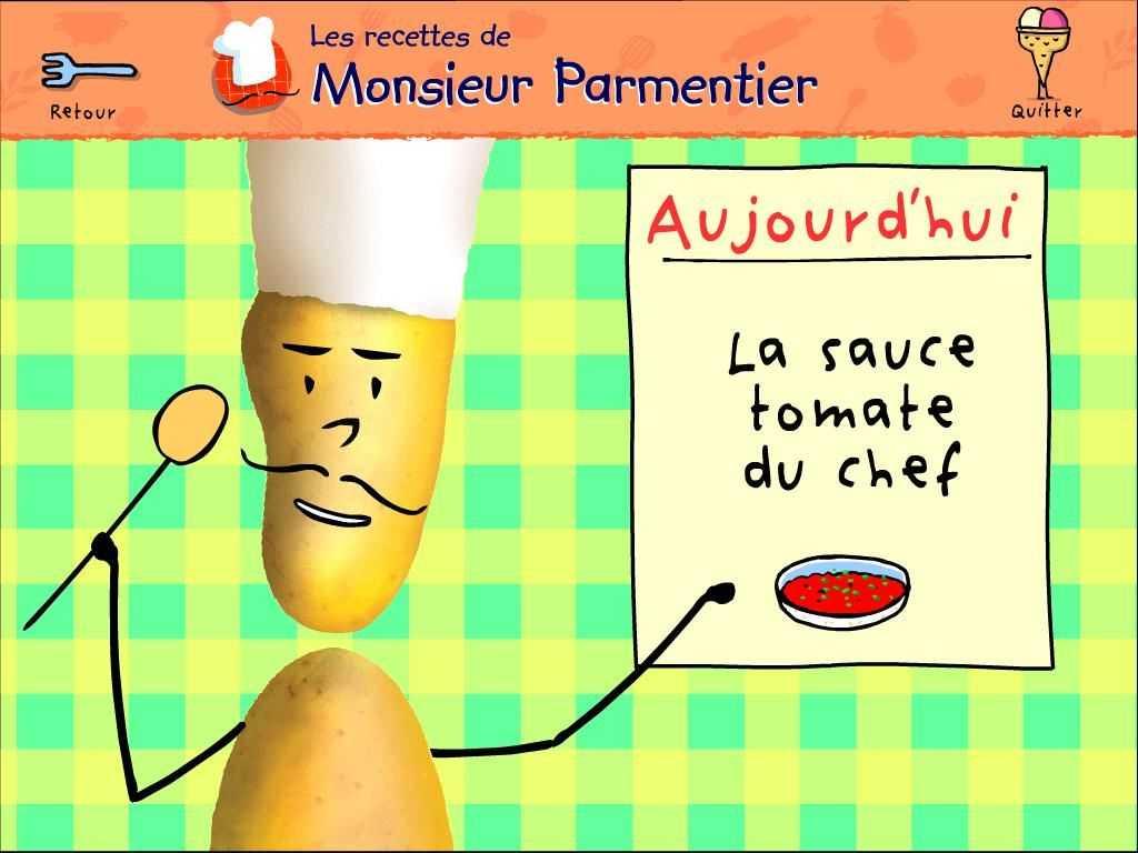 Les recettes de Monsieur Parmentier