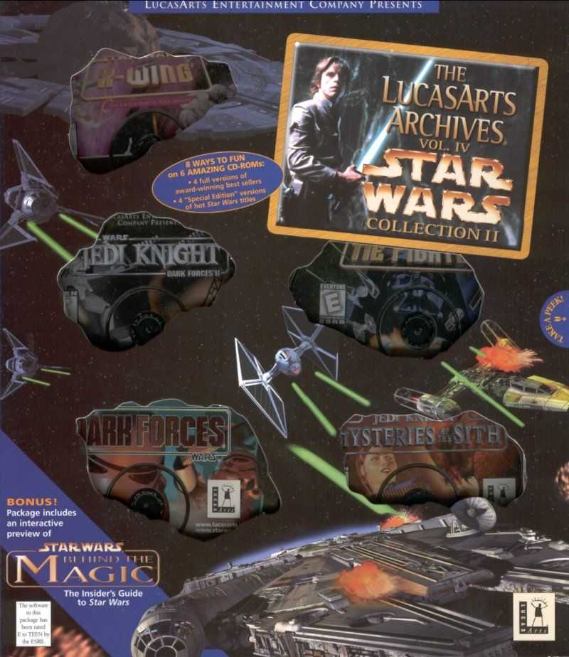 The LucasArts Archives Vol. IV: The Star Wars Collection 2