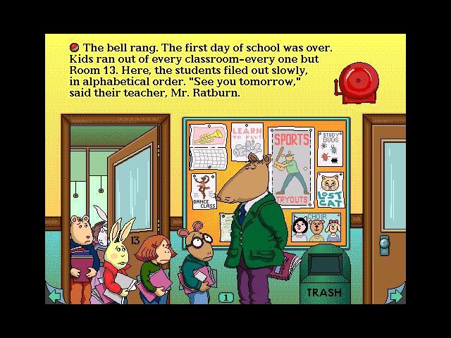 Marc Brown's Arthur's Teacher Trouble