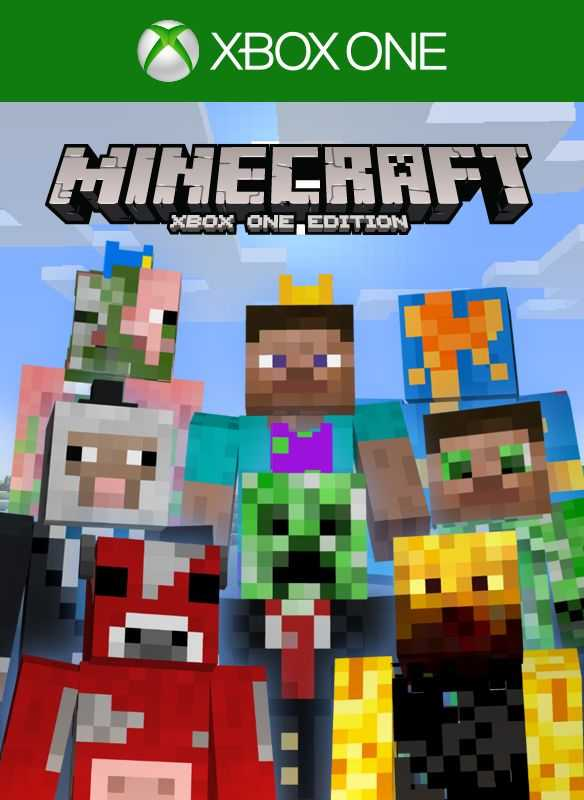 minecraft and minecraft xbox one edition