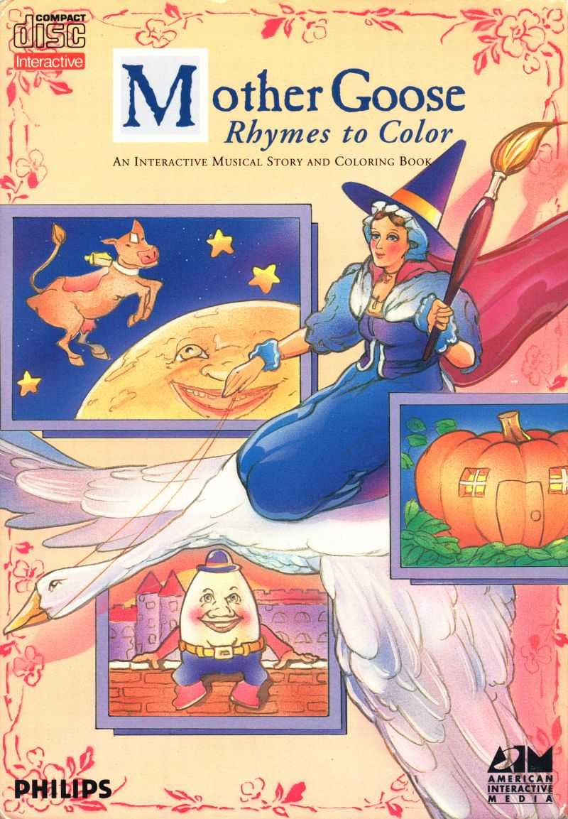 Mother Goose: Rhymes to Color