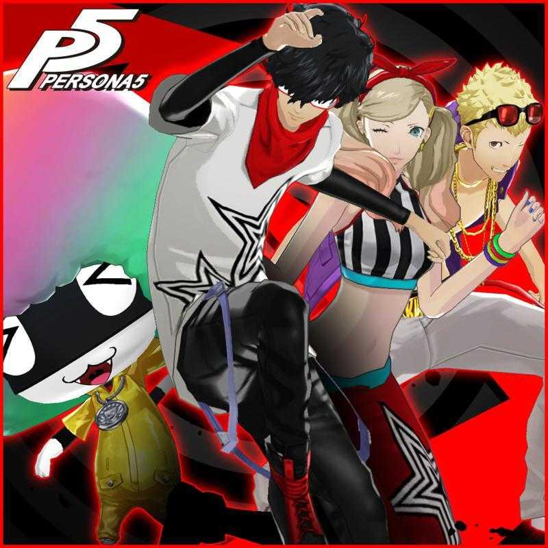 Persona 5: Persona 4 - Dancing All Night Costume & BGM Special Set